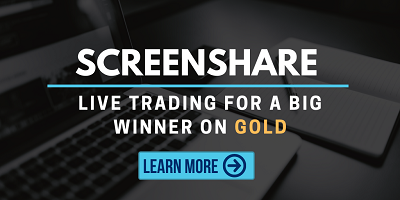 Live Trading for a big winner on Gold